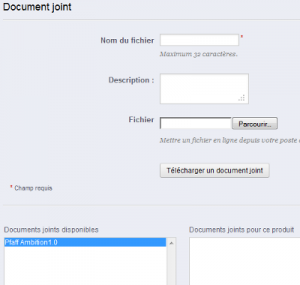 Joindre un document